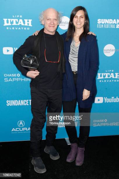 Timothy GreenfieldSanders and Johanna Giebelhaus attend the 'Toni Morrison The Pieces I Am' Premiere during the 2019 Sundance Film Festival at The...