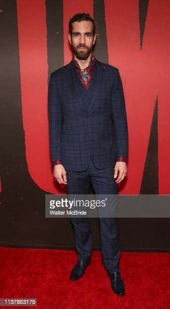 Timothy Hughes attends Broadway Opening Night After Party for 'Hadestown' at Guastavino's on April 17, 2019 in New York City.
