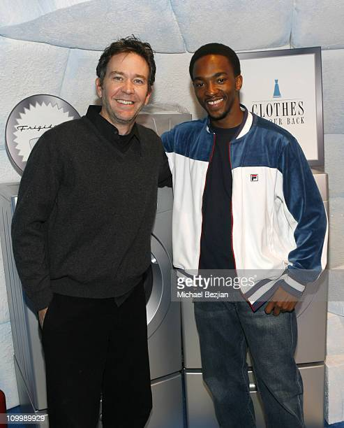 Timothy Hutton and Anthony Mackie during 2006 Park City Frigidaire Glacier Lounge at Village at the Lift Day 3 at Village at the Lift in Park City...