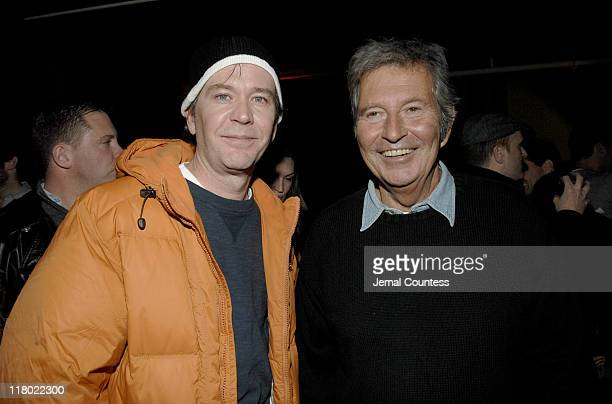 Timothy Hutton and Bob Shaye during 2007 Sundance Film Festival The Last Mimzy Afterparty and New Line Cinema 40th Anniversary Party at Claim Jumper...
