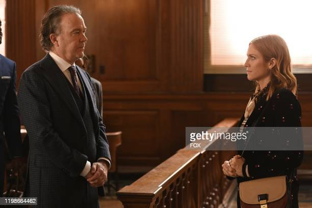 Timothy Hutton and Brittany Snow in the Expectant AF season finale episode of ALMOST FAMILY airing Wednesday Jan 29 on FOX