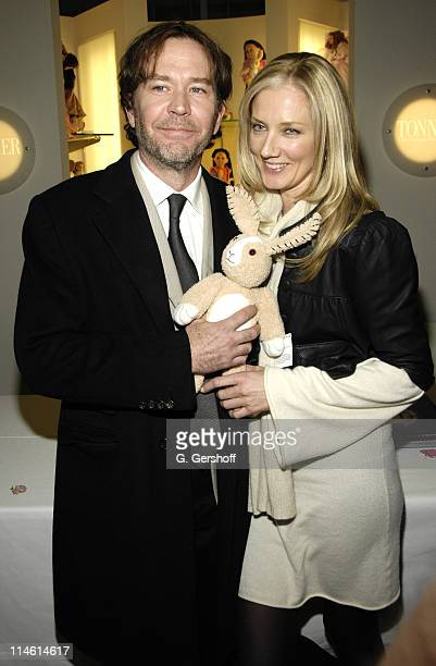 Timothy Hutton and Joely Richardson during FAO Celebrates The Last Mimzy with Doll Signing and Star Appearances March 19 2007 at FAO Schwarz in New...