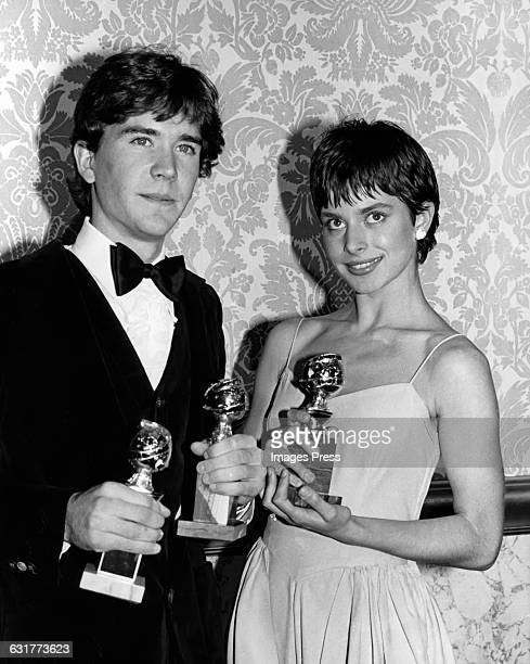 Timothy Hutton and Nastassja Kinski circa 1981 in Los Angeles California