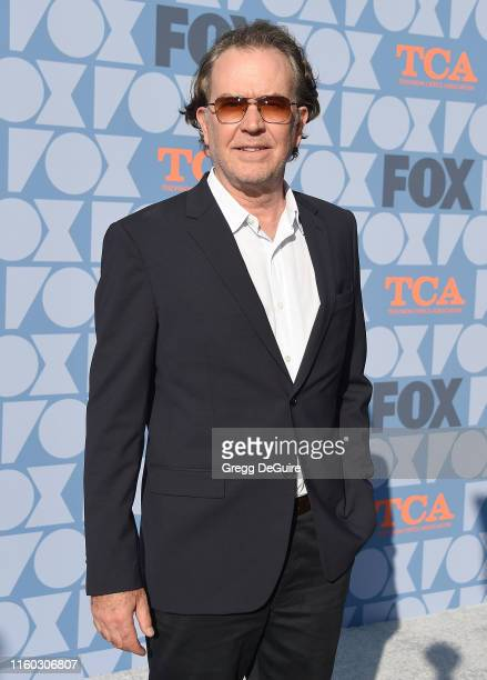 Timothy Hutton arrives at the FOX Summer TCA 2019 AllStar Party at Fox Studios on August 7 2019 in Los Angeles California