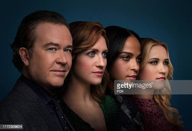 Timothy Hutton as Dr Leon Bechley Brittany Snow as Julia Bechley Megalyn Echikunwoke as Edie Palmer and Emily Osment as Roxy Doyle in Season 1 of...