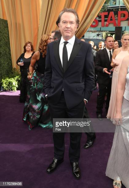 Timothy Hutton attends FOXS LIVE EMMY RED CARPET ARRIVALS during the 71ST PRIMETIME EMMY AWARDS airing live from the Microsoft Theater at LA LIVE in...