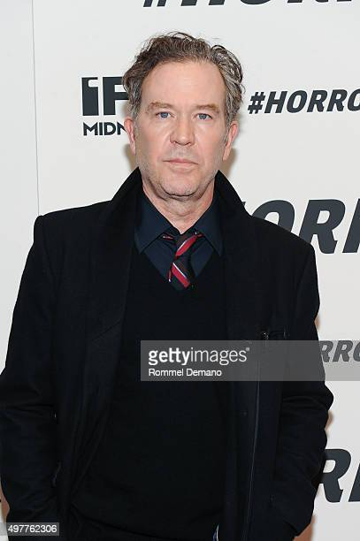 Timothy Hutton attends #Horror New York Premiere at MoMA Titus One on November 18 2015 in New York City