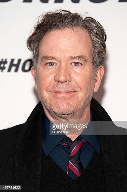 Timothy Hutton attends the #Horror New York premiere at MoMA Titus One on November 18 2015 in New York City