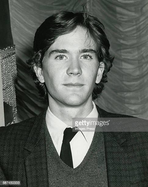 Timothy Hutton circa 1981 in New York City