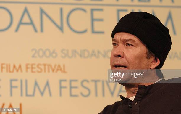 Timothy Hutton during 2006 Sundance Film Festival HP Portrait Studio Presented by WireImage Day 2 at HP Portrait Studio Presented By WireImage in...