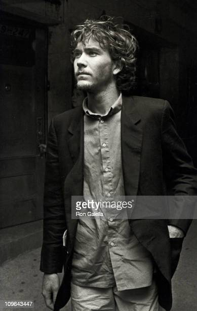 Timothy Hutton during Nine New York City Performance July 8 1982 at Broadway Theater in New York City New York United States