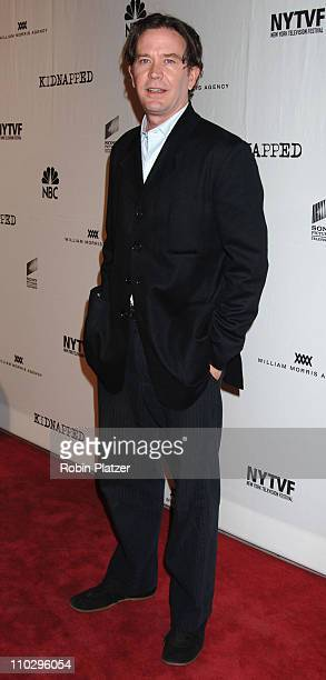 Timothy Hutton during Opening Night Gala for the New York Television Festival and NBC Premiere of Kidnapped September 12 2006 at The New World Stages...