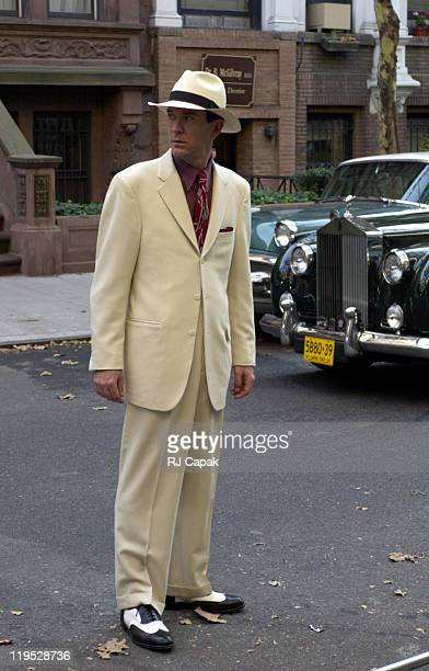 Timothy Hutton during Timothy Hutton is starring and directing an AE episode of a Nero Wolfe Mystery at Upper westside in New York City New York...