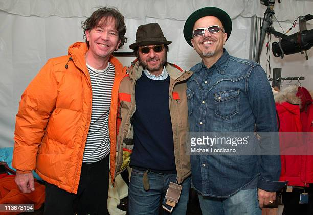 Timothy Hutton Fisher Stevens and Joe Pantoliano at Napapijri at The Ice Lounge presented by The North Face Lexus and St Regis*Exclusive*