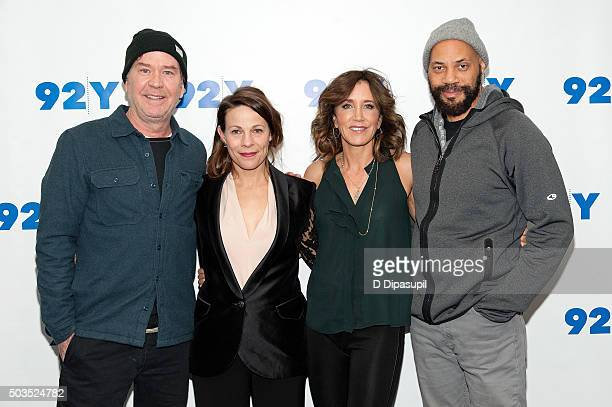 Timothy Hutton Lili Taylor Felicity Huffman and John Ridley attend 92nd Street Y Presents An Evening With American Crime Season Two at the 92nd...