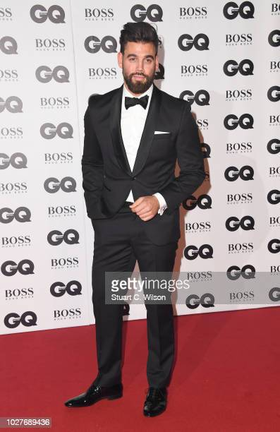 Timothy James attends the GQ Men of the Year awards at the Tate Modern on September 5 2018 in London England