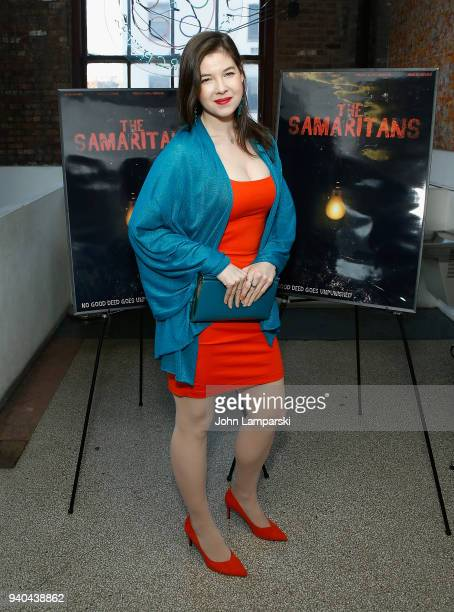Timothy Laurel Harrison attends 'The Samaritans' New York premiere at Anthology Film Archives on March 31 2018 in New York City