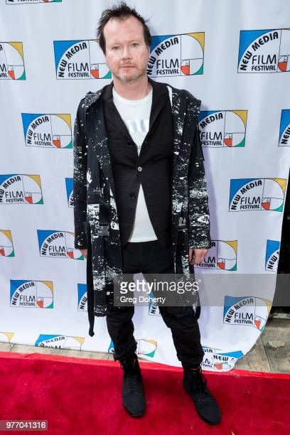 Timothy Morton attends the 9th Annual New Media Film Festival at James Bridges Theater on June 16 2018 in Los Angeles California