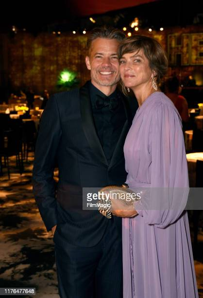 Timothy Olyphant and Alexis Knief attend HBO's Official 2019 Emmy After Party on September 22, 2019 in Los Angeles, California.