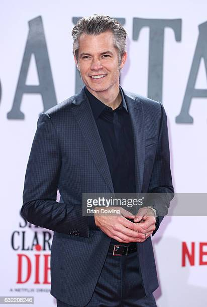 Timothy Olyphant at the premiere of Netflix's Santa Clarita Diet at CineStar on January 20 2017 in Berlin Germany