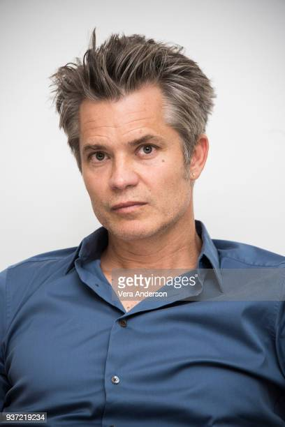 Timothy Olyphant at the Santa Clarita Diet Press Conference at the Four Seasons Hotel on March 23 2018 in Beverly Hills California