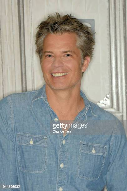 Timothy Olyphant attends Build series to discuss The Santa Clarita Diet at Build Studio on April 10 2018 in New York City