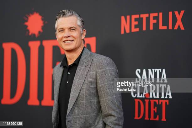 Timothy Olyphant attends Netflix's 'Santa Clarita Diet' Season 3 Premiere at Hollywood Post 43 on March 28 2019 in Los Angeles California