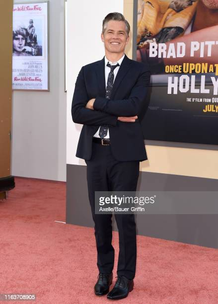 "Timothy Olyphant attends Sony Pictures' ""Once Upon a Time ... In Hollywood"" Los Angeles Premiere on July 22, 2019 in Hollywood, California."