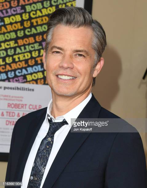 "Timothy Olyphant attends Sony Pictures' ""Once Upon A Time...In Hollywood"" Los Angeles Premiere on July 22, 2019 in Hollywood, California."