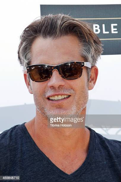 Timothy Olyphant attends the 5th annual 'LA Loves Alex's Lemonade' annual fundraiser at Wilson Plaza UCLA on September 20 2014 in Westwood California