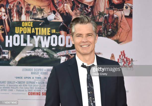 "Timothy Olyphant attends The Los Angeles Premiere Of ""Once Upon A Time In Hollywood"" at TCL Chinese Theatre on July 22, 2019 in Hollywood, California."