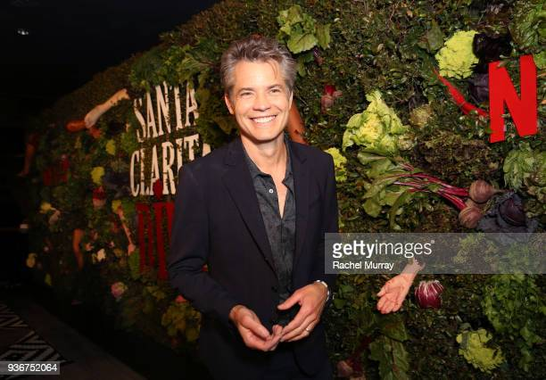 Timothy Olyphant attends the Santa Clarita Diet season 2 world premiere on March 22 2018 in Hollywood California
