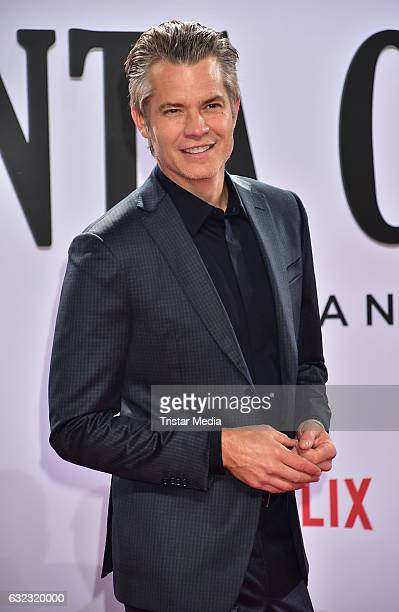 Timothy Olyphant attends the Santa Clarita Diet Special Screening at CineStar on January 20 2017 in Berlin Germany Photo by Tristar Media/Getty...