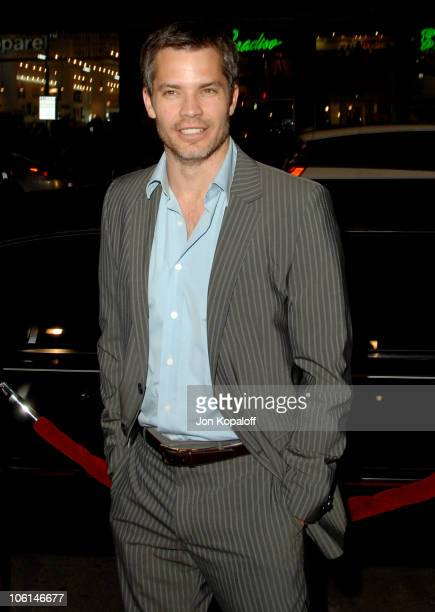 Timothy Olyphant during 300 Los Angeles Premiere Arrivals at Graumans Chinese Theatre in Hollywood CA United States