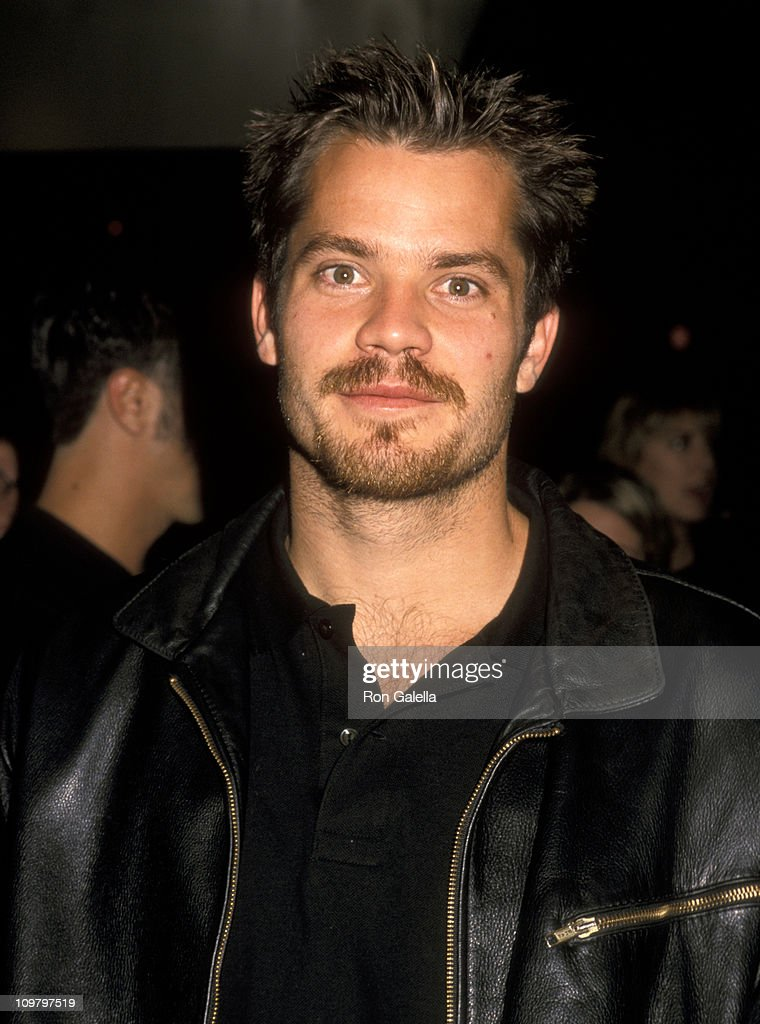 Timothy Olyphant during 'Shakespeare in Love' Premiere Party - December 3, 1998 at St. Regis Hotel in New York City, New York, United States.