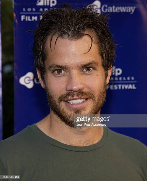 Timothy Olyphant during World Premiere of Mayor Of The Sunset Strip at the 2003 IFP Los Angeles Film Festival Arrivals at Arclight Cinerama Dome in...