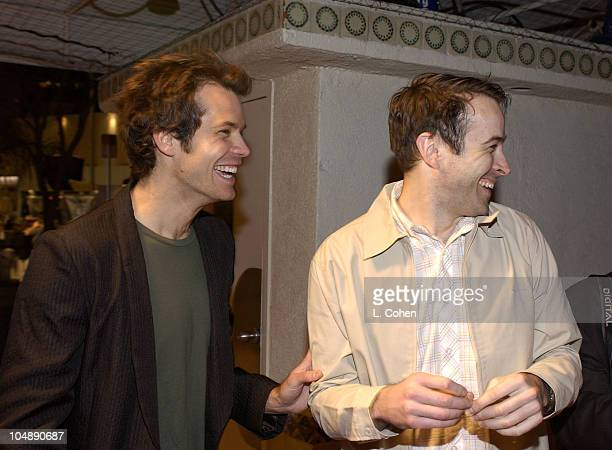 Timothy Olyphant Jason Lee during 'Dreamcatcher' Premiere at Mann Village Theatre in Westwood California United States