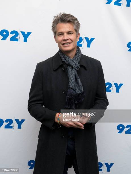 Timothy Olyphant visits 92nd Street Y to discuss Santa Clarita Diet on March 19 2018 in New York City
