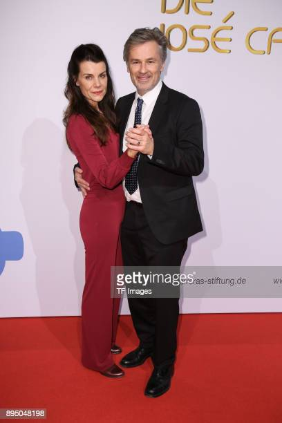 Timothy Peach and Nicola Tiggeler attend the 23th Annual Jose Carreras Gala on December 14 2017 in Munich Germany