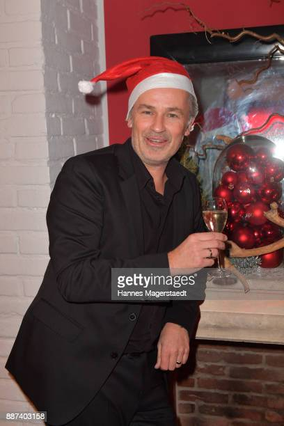 Timothy Peach during the CONNECTIONS PR XMAS Cocktail at Kaefer Atelier on December 6 2017 in Munich Germany