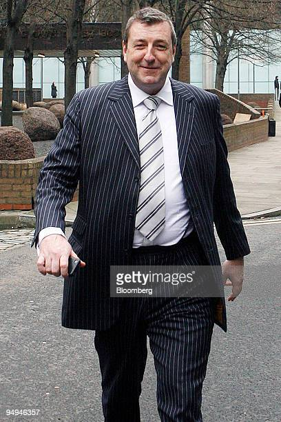Timothy Power a former operations director of Belgo Group leaves Southwark Crown Court in London UK on Monday Feb 16 2009 Power and Euan Carlisle a...