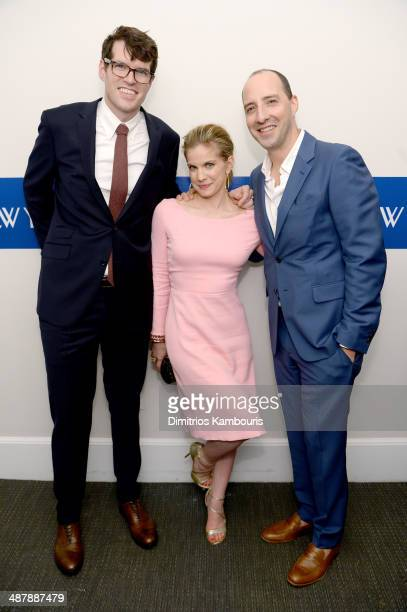 Timothy Simons Anna Chlumsky and Tony Hale of 'VEEP' attend the White House Correspondents' Dinner Weekend PreParty hosted by The New Yorker's David...