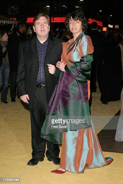 Timothy Spall and wife MaryJane during Lemony Snicket's A Series Of Unfortunate Events London Premiere at Empire Leicester Square in London United...