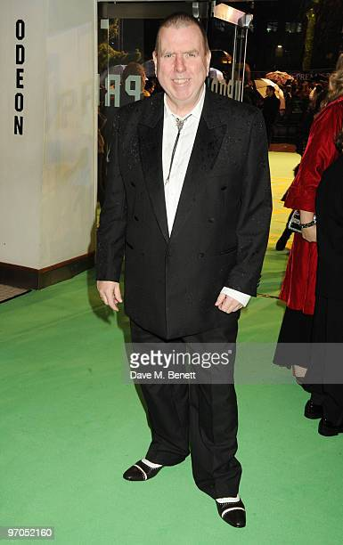 Timothy Spall arrives at the Royal World Premiere of 'Alice In Wonderland' at the Odeon Leicester Square on February 25 2010 in London England
