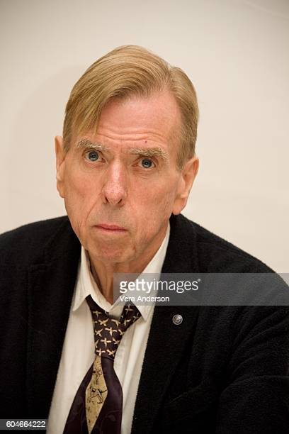 Timothy Spall at the Denial press conference at the Fairmont Hotel on September 11 2016 in Toronto Canada