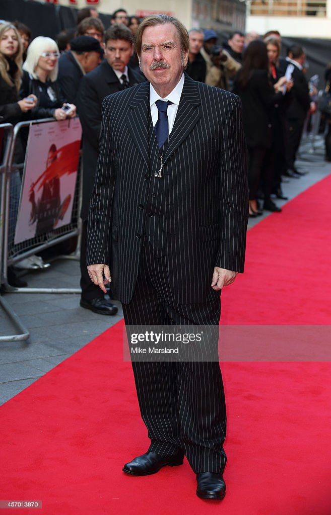 Timothy Spall attends a screening of 'Mr Turner' during the 58th BFI London Film Festival at Odeon West End on October 10, 2014 in London, England.