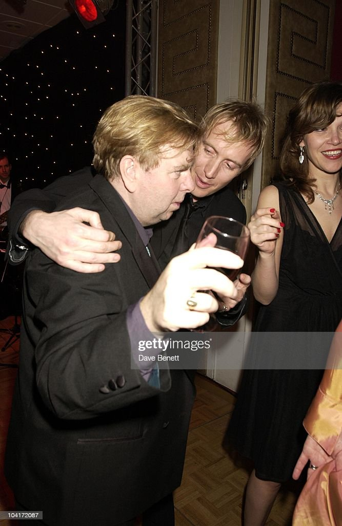 Timothy Spall & Rhys Ifans, Evening Standard Film Awards, At The Savoy Hotel, London