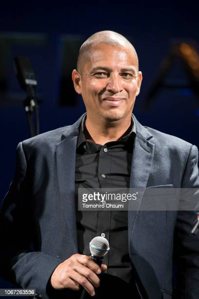 Timothy Spencer attends the Richard Mille party 'Ginza' at Mandarin Oriental Tokyo on November 13 2018 in Tokyo Japan