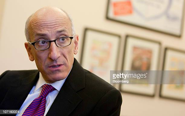 Timothy Tim Massad acting assistant secretary at the US Treasury Department's Office of Financial Stability speaks during an interview at the...