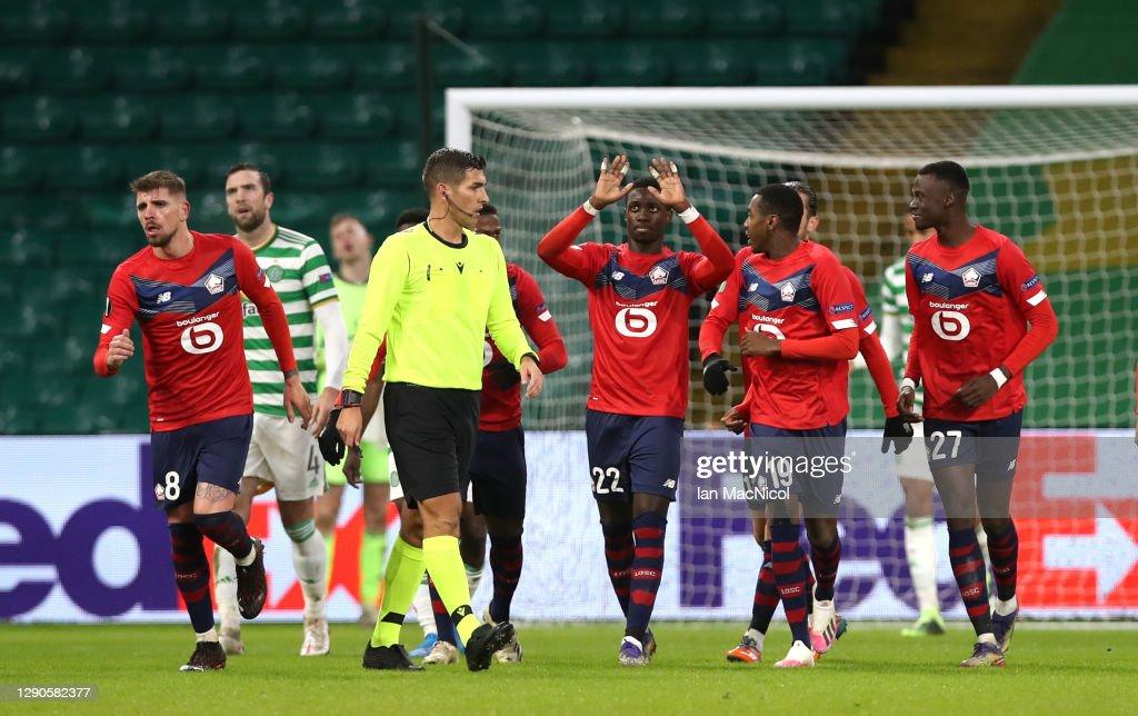Celtic v LOSC Lille: Group H - UEFA Europa League : ニュース写真